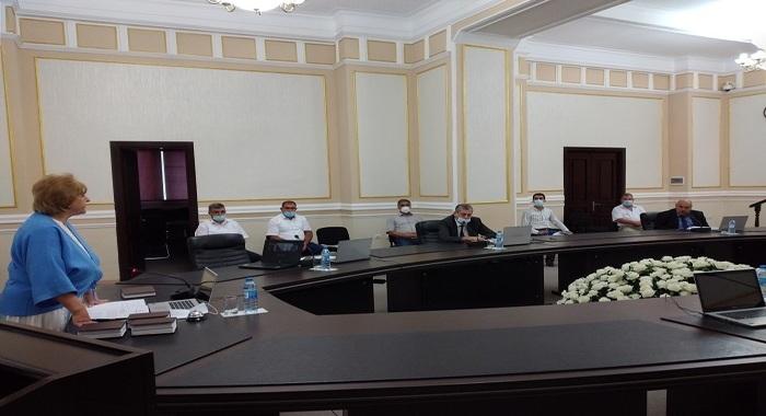Состоялось очередное заседание Комиссии по инвентаризации НАНА