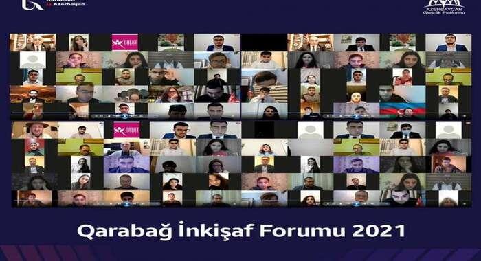 """İnstitutun əməkdaşı """"Qarabağ İnkişaf Forumu – 2021""""-də iştirak edib"""